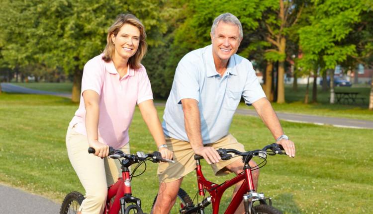 Hình ảnh minh họa đi xe đạp